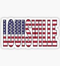 Louisville. Sticker