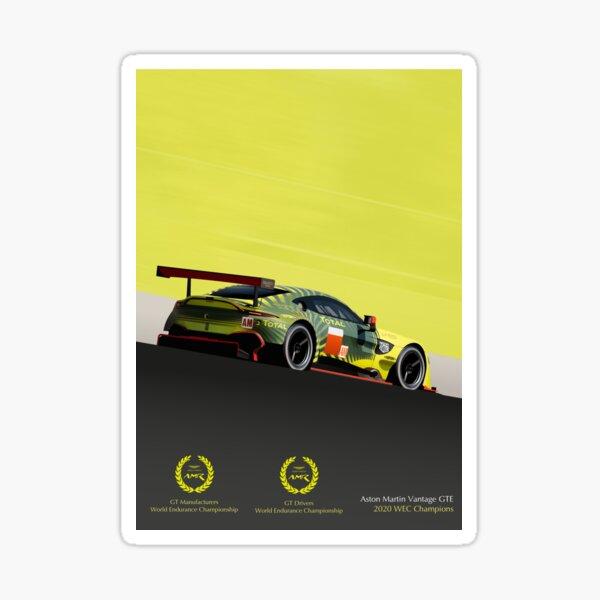 Champions Aston Martin Vantage GTE 2020 Sticker