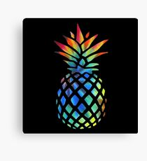 Hippy Pineapple - ONE:Print Canvas Print
