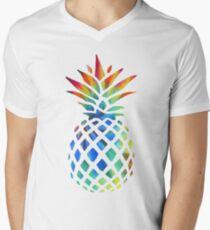 Hippy Pineapple - ONE:Print Men's V-Neck T-Shirt