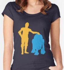 True Buds Women's Fitted Scoop T-Shirt