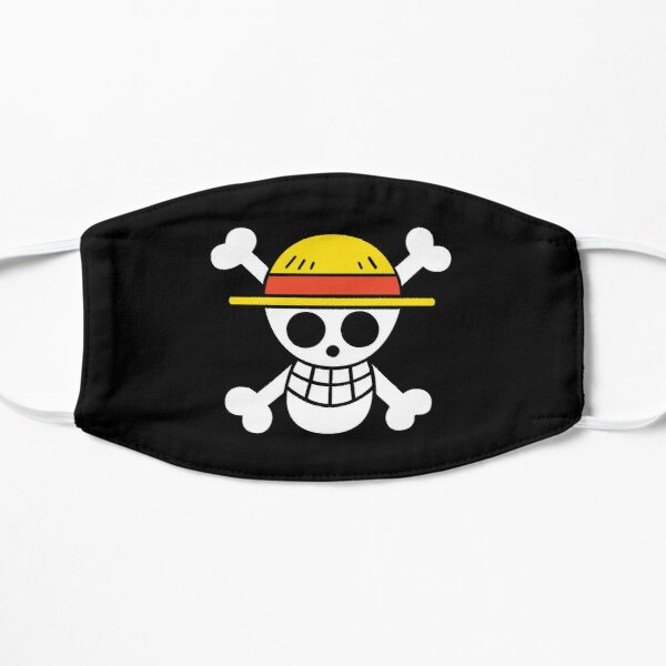 One Piece Flag Flat Mask