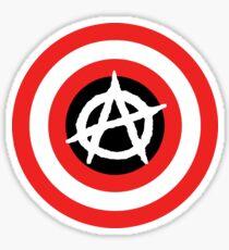 Captain Anarchy! Sticker