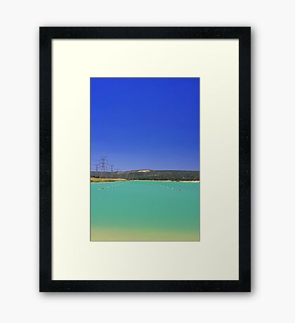 Champion Lake - Western Australia  Framed Print