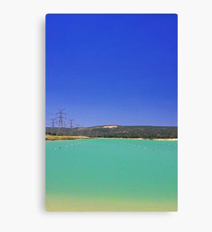 Champion Lake - Western Australia  Canvas Print