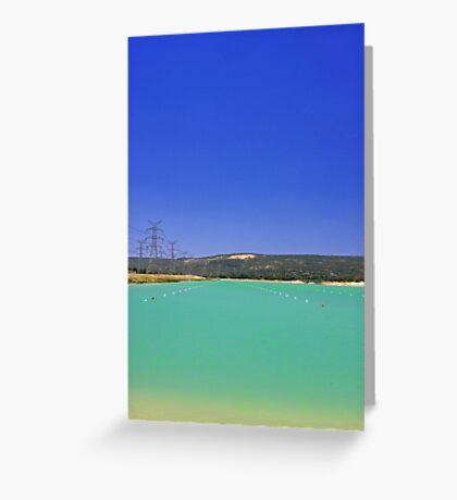 Champion Lake - Western Australia  Greeting Card