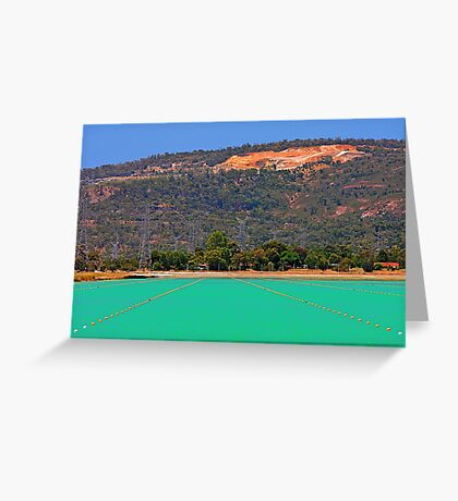 Champion Lakes - Western Australia  Greeting Card
