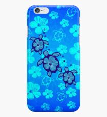 3 Hawaiian Honu And Hibiscus iPhone 6 Case