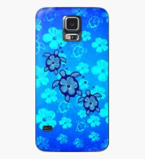 3 Hawaiian Honu And Hibiscus Case/Skin for Samsung Galaxy