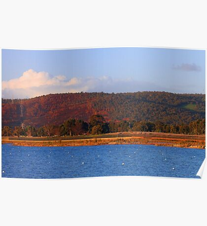 Champion Lakes Foothills - Western Australia  Poster