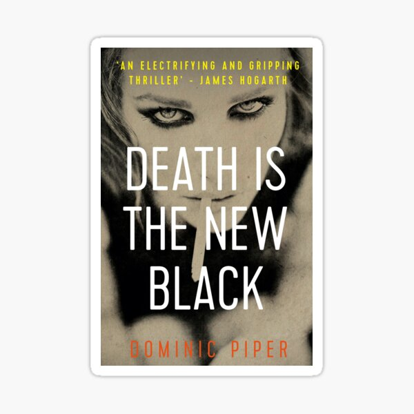 Death is the New Black cover art. Sticker