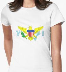 U.S. Virgin Islands Women's Fitted T-Shirt