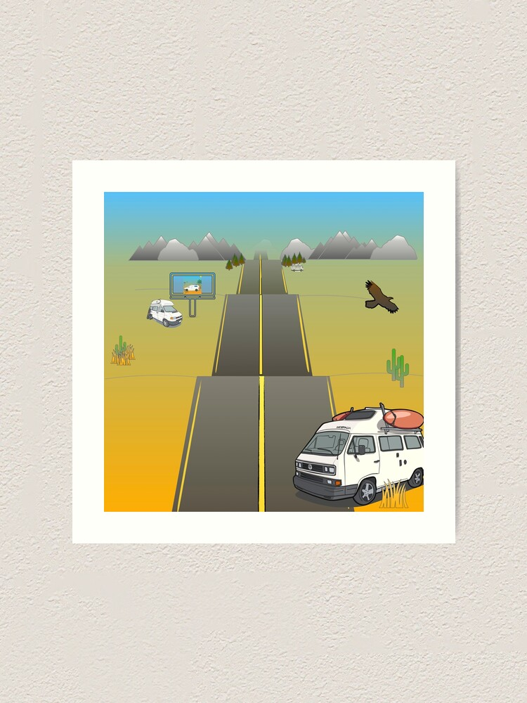 Alternate view of Road Art Print