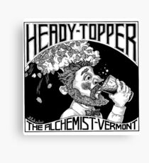 Heady Topper Canvas Print