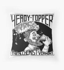 Heady Topper Throw Pillow