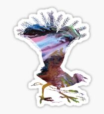 Lyrebird Sticker