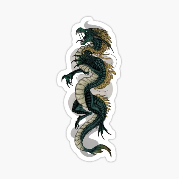 Snark Dragon Sticker