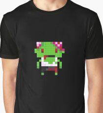 Pixel Art Zombie Graphic T-Shirt