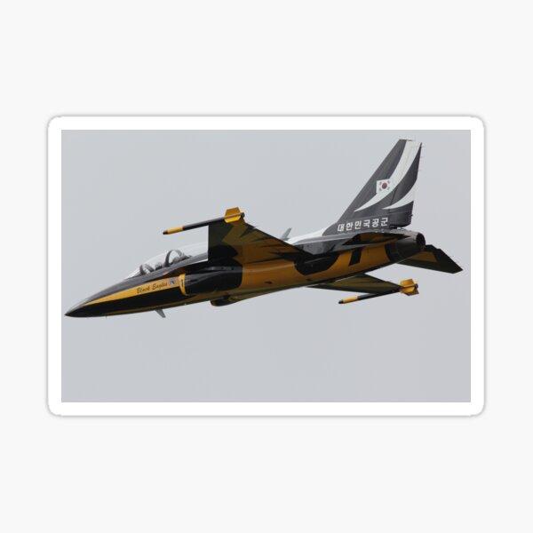 Black Eagles T-50B Korea aerobatic team  Sticker