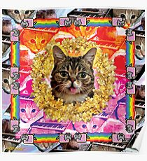 Cat Internet Royalty Poster
