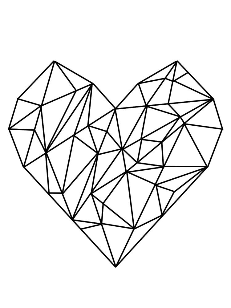 Geometric Heart by IvonaVargek
