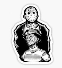 Freddy vs Jason Sticker Sticker