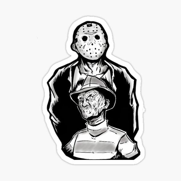 EM Freddy VSJason Sticker Vinyl Stickers emfreddyvsjason-01