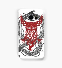Red Konung Samsung Galaxy Case/Skin
