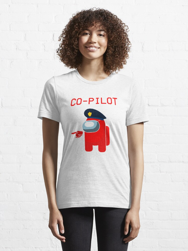 Alternate view of Model 140 - Co-Pilot Essential T-Shirt