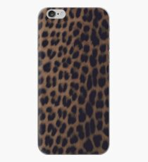 Einfarbiger Leopard-Druck iPhone-Hülle & Cover