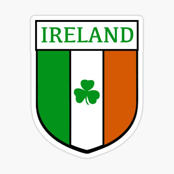 Ireland hemblem Sticker