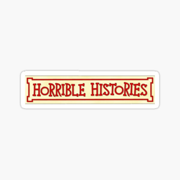 Horrible Histories Logo Sticker