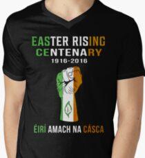 Easter Rising Centenary T Shirt 1916 - 2016 Men's V-Neck T-Shirt