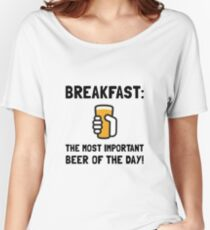 Breakfast Beer Women's Relaxed Fit T-Shirt