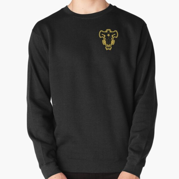 Taureaux noirs Sweatshirt épais