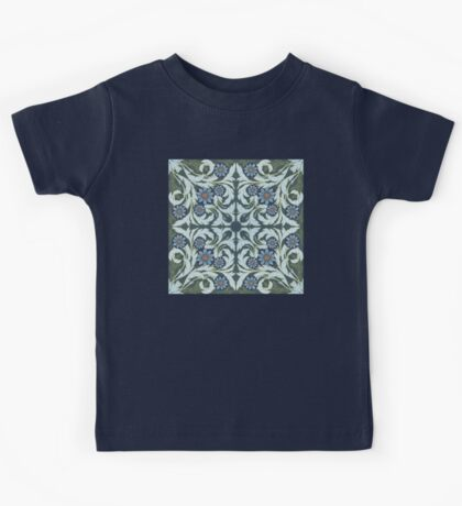 Mosaic flowers pattern Kids Clothes