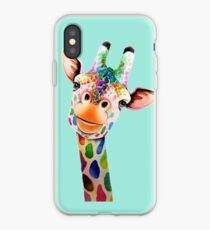 Giraffe iPhone-Hülle & Cover