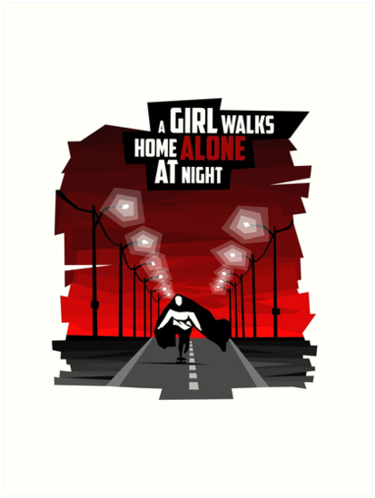 A Girl Walks Home Alone At Night by wojciechbedn