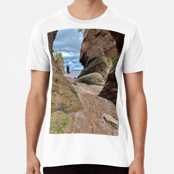 Hopewell Rocks Premium T-Shirt