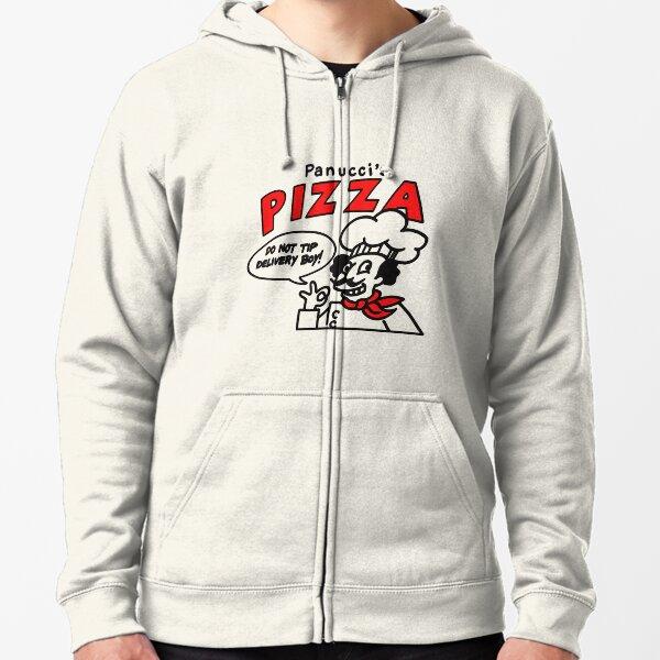 Panucci's Pizza Zipped Hoodie