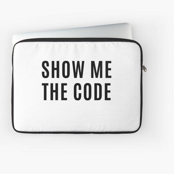 Muéstrame el código Funda para portátil