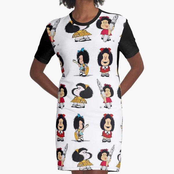 Patrón de Mafalda Vestido camiseta
