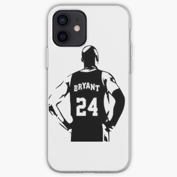 Kobe bryant drawing iPhone Soft Case