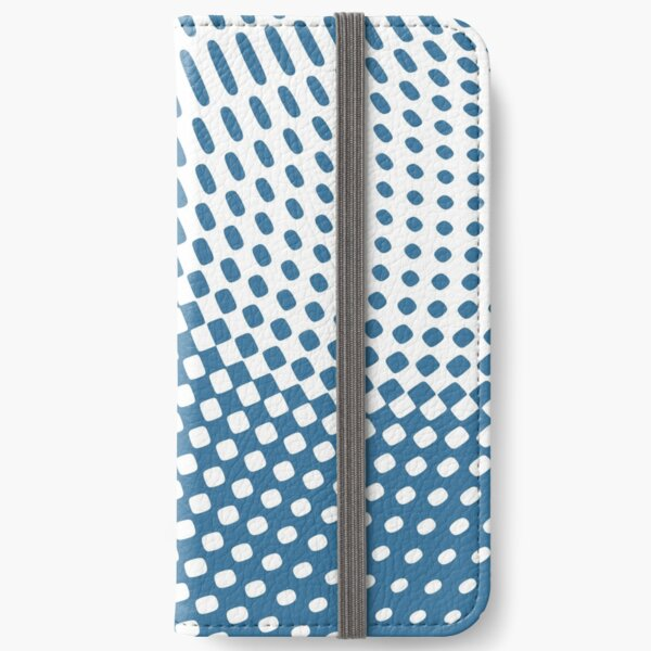 Blue Wave iPhone Wallet