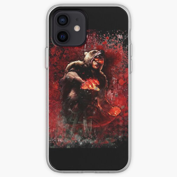 Path of exile Red Bear / Udyr LoL iPhone Soft Case