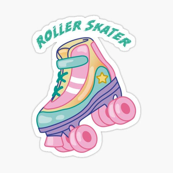 Roller Skater - Keep on rolling Sticker