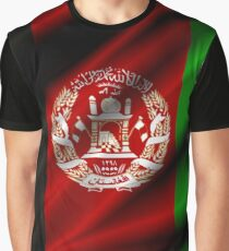 flag of afghanistan Graphic T-Shirt
