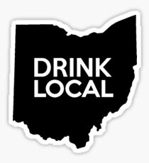 Ohio Drink Local OH Sticker