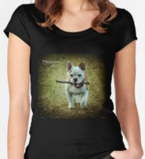Happiness Is... Women's Fitted Scoop T-Shirt