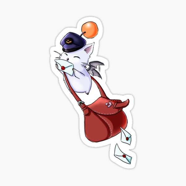 You have a message kupo Sticker